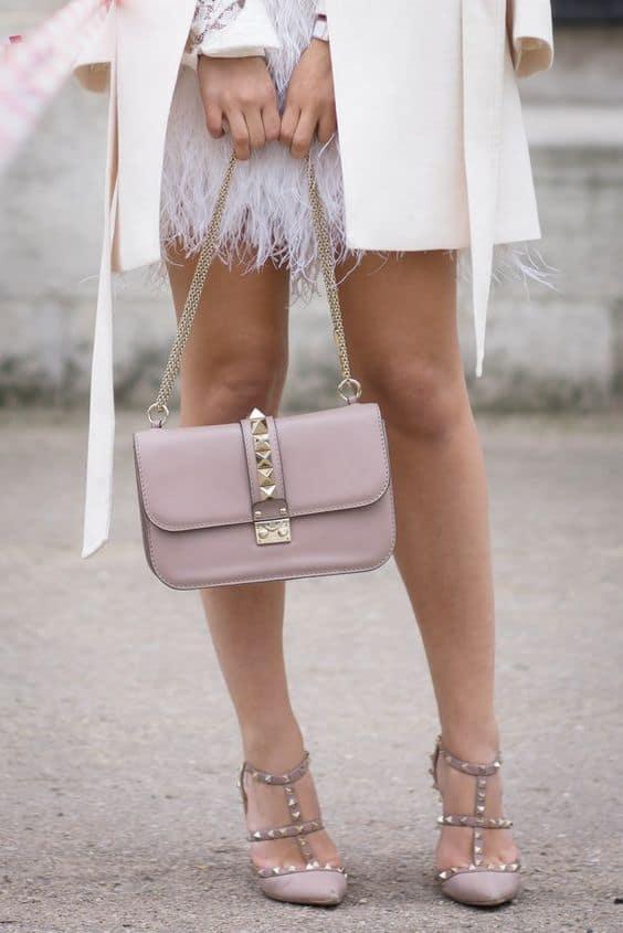 Valentino Rockstud styled pink
