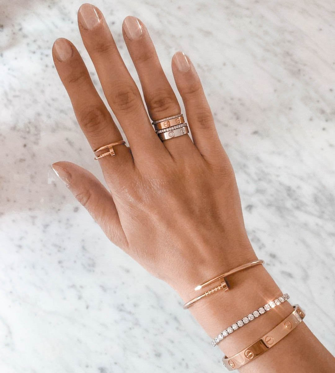how to style a cartier love ring