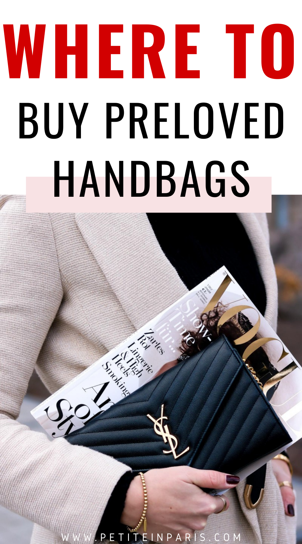 places to buy preloved designer bags
