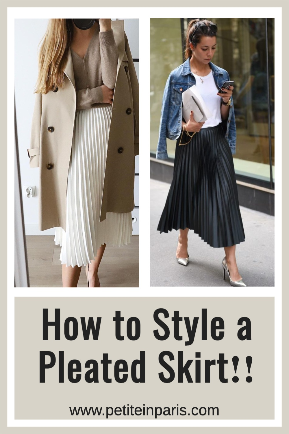 pleated skirts are still in style