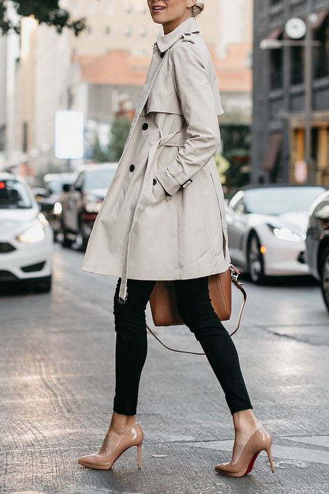 ways to style a burberry trench coat