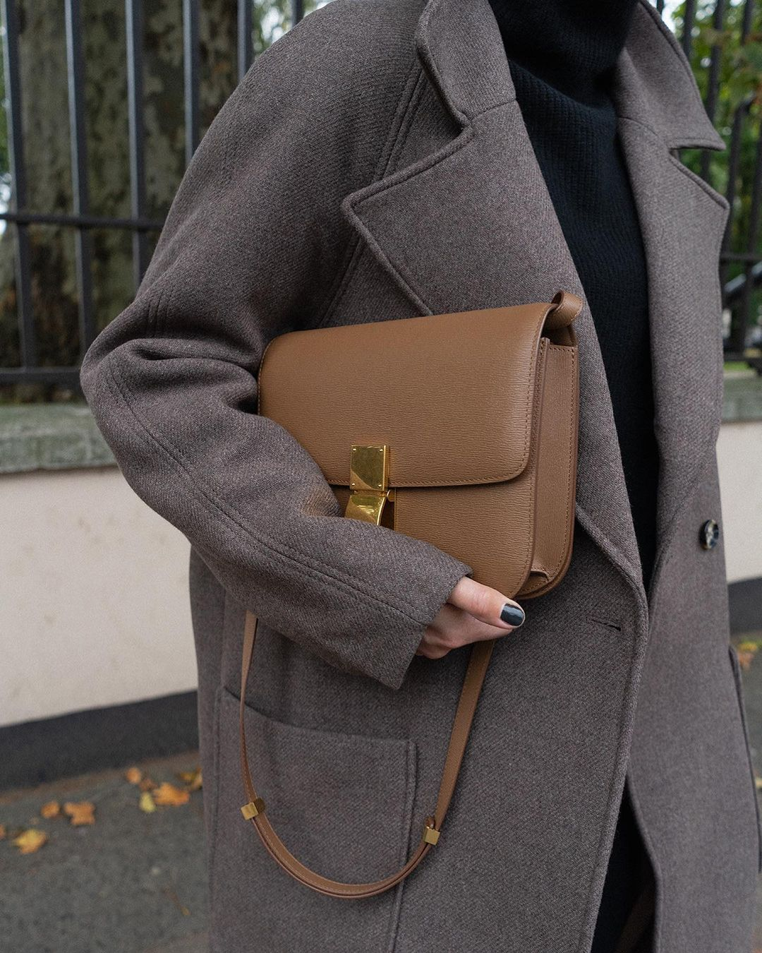 Celine Classic Box Bag styled