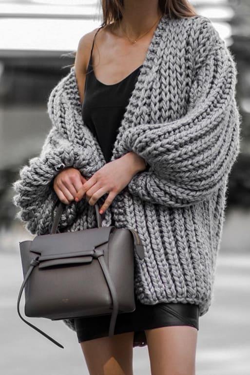 Grey Celine Belt Bag Styled