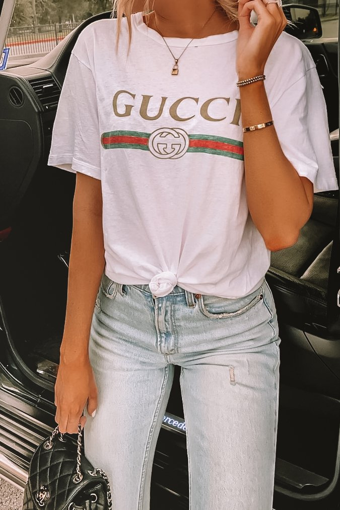 Gucci tshirt outfit