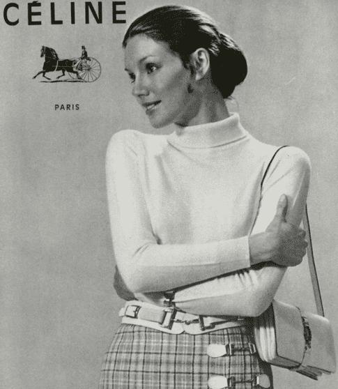 1970s iconic celine photo