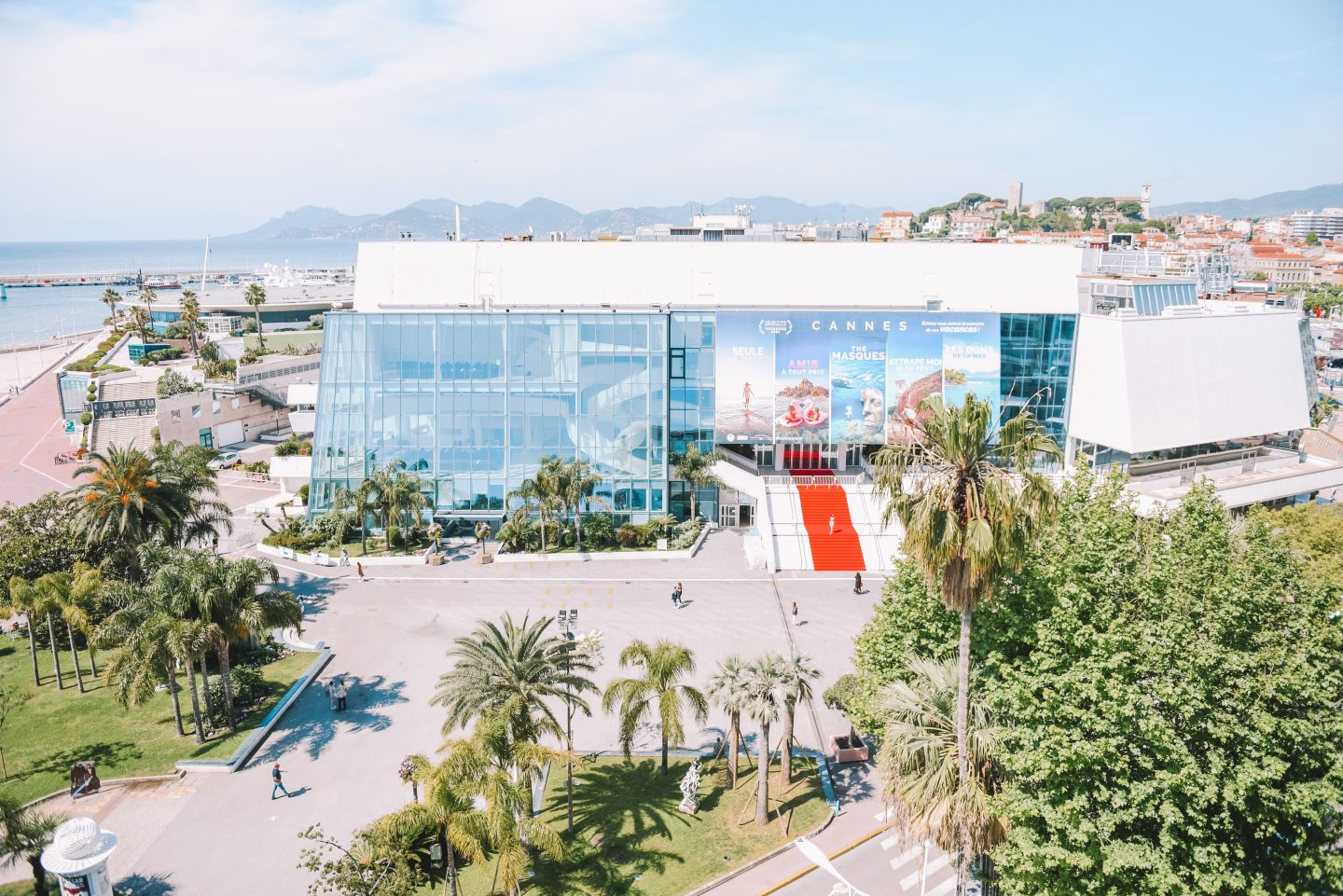 Cannes Film Festival red carpet view from hotel Barriere Majestic