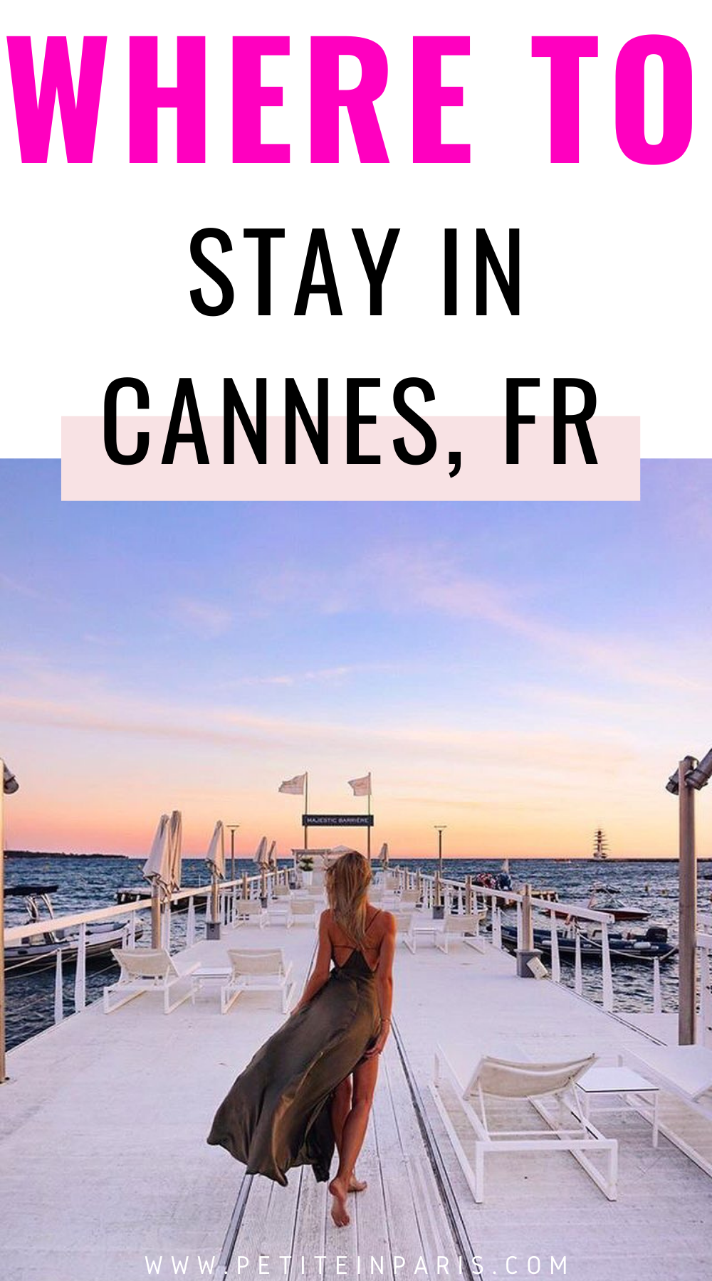 Where to stay in Cannes, France