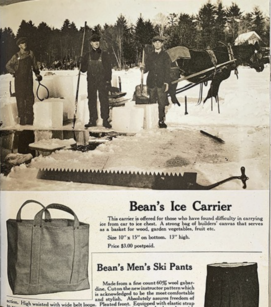 First ever Tote Bag created by LL Bean