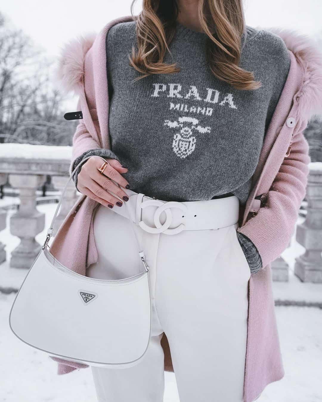 Prada Cleo Bag Styled