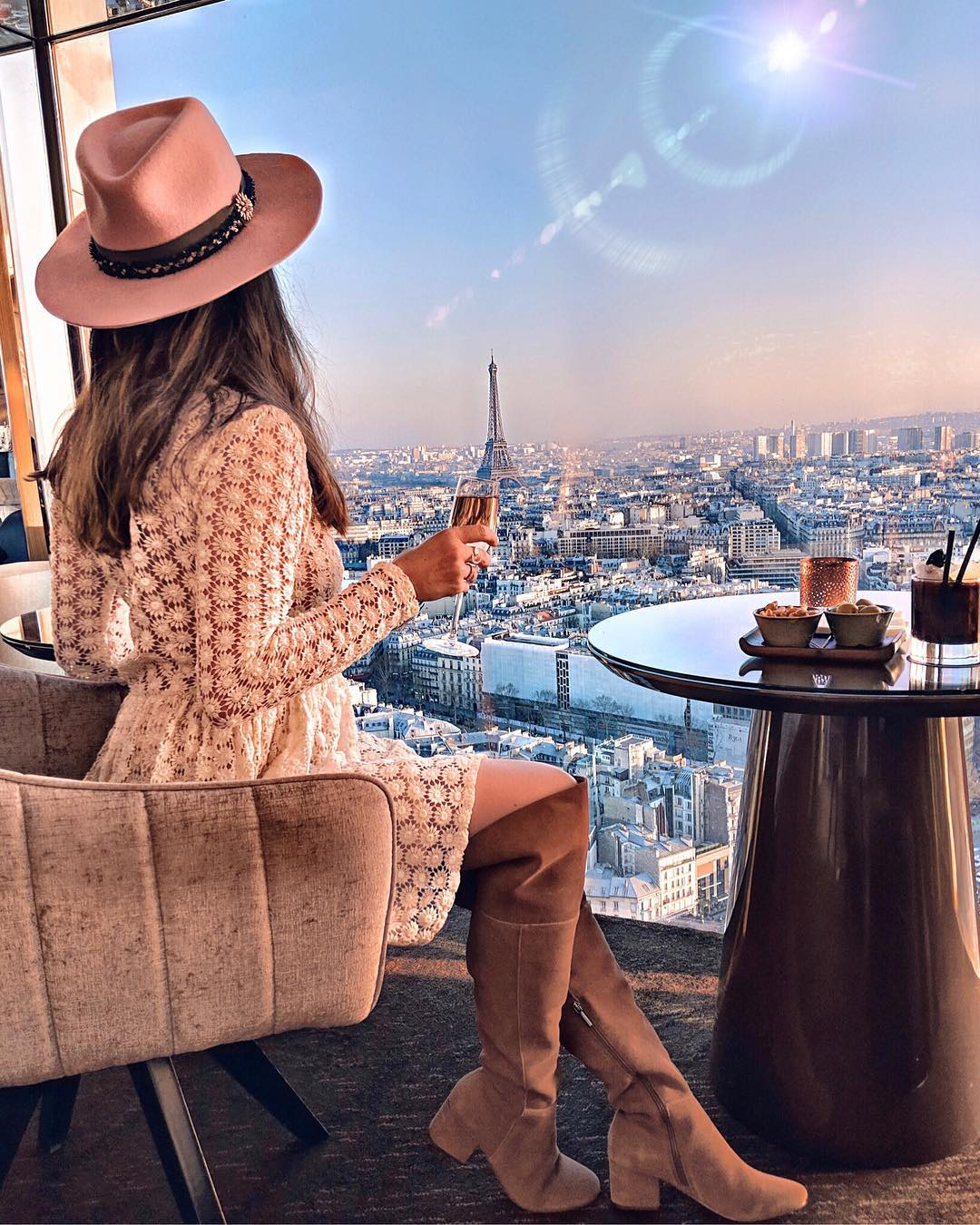 Best bars in Paris to see the Eiffel Tower
