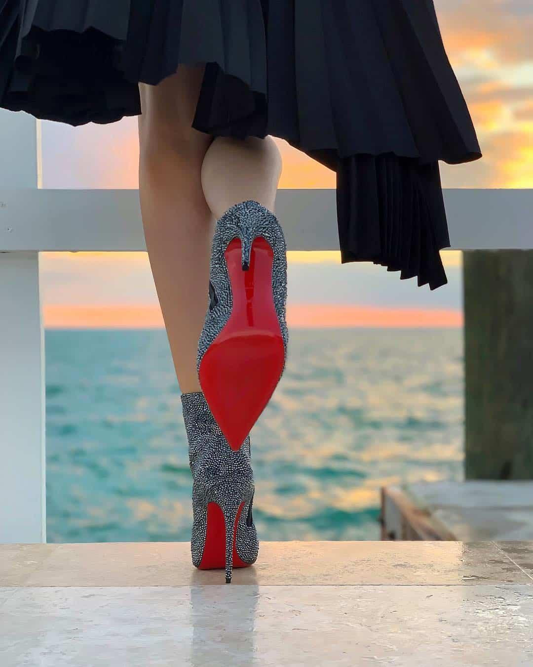 Chrisitian Louboutin red bottom shoes