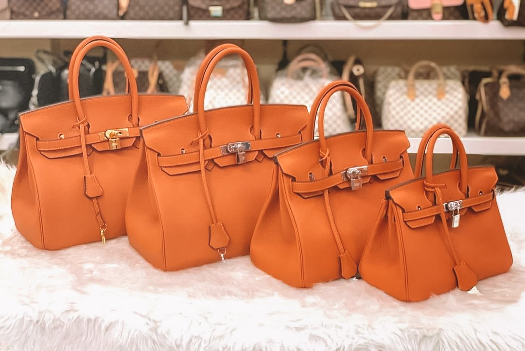 Different Hermes Sizes