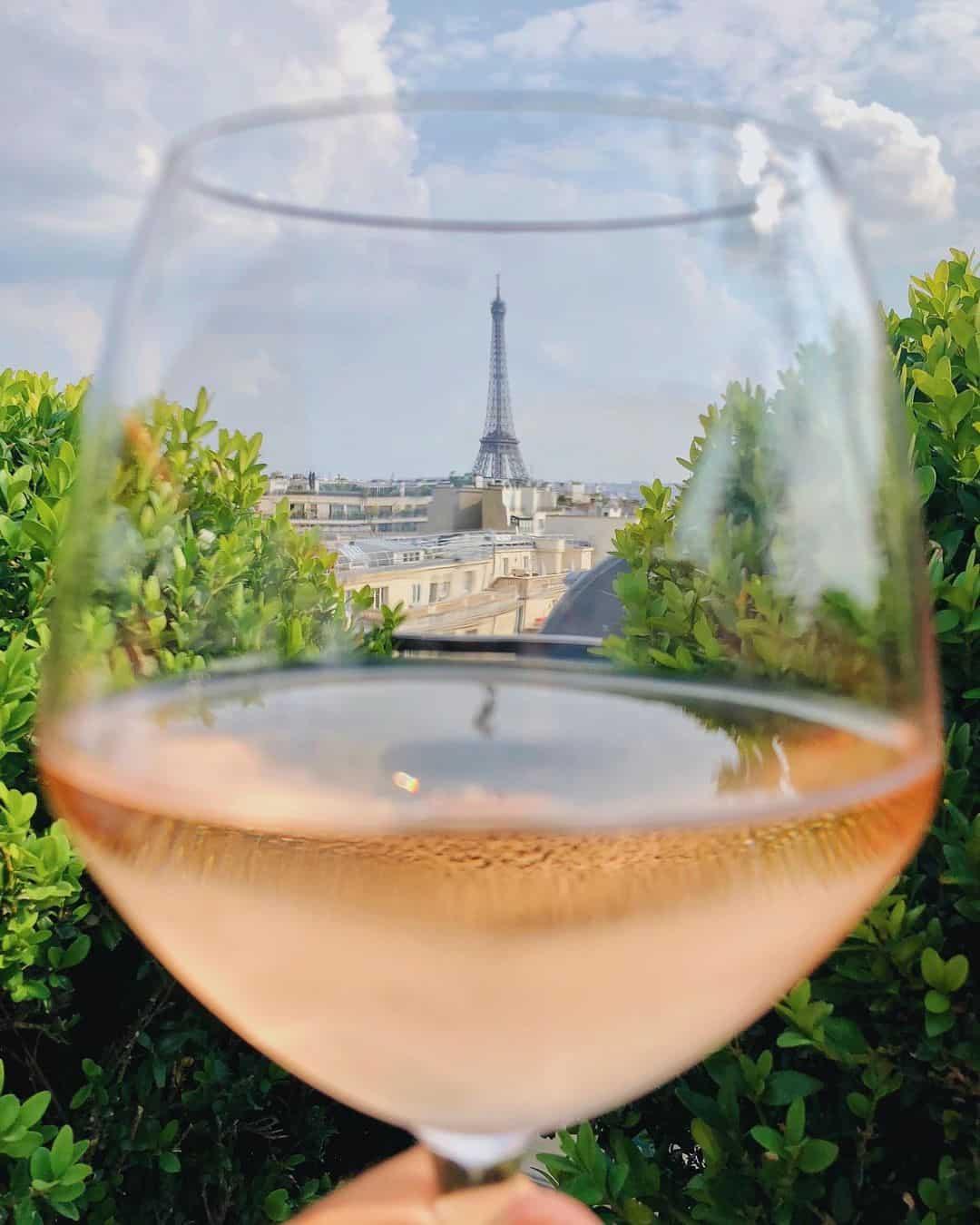 Luxury Rooftop Bar in Paris
