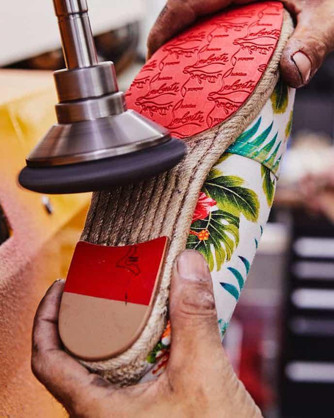 Official Christian Louboutin shoe repair cobbler