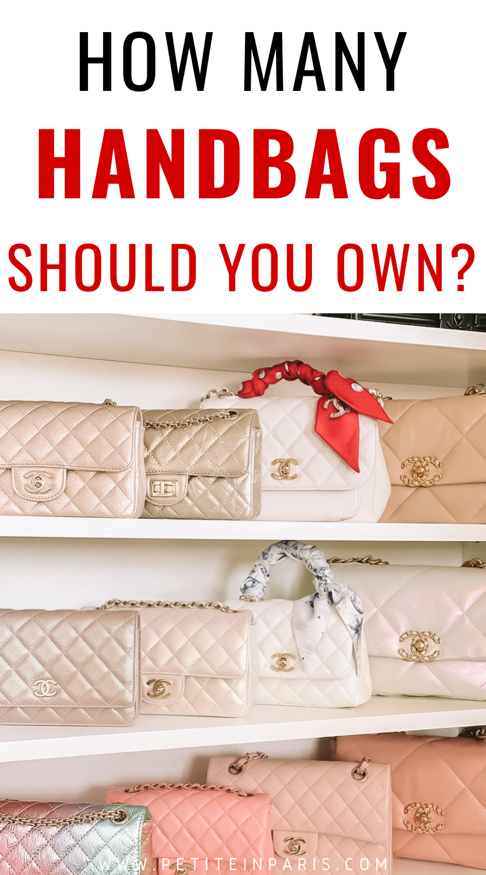 How Many handbags should you own?