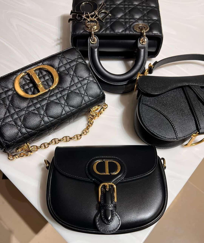 4 Dior handbags