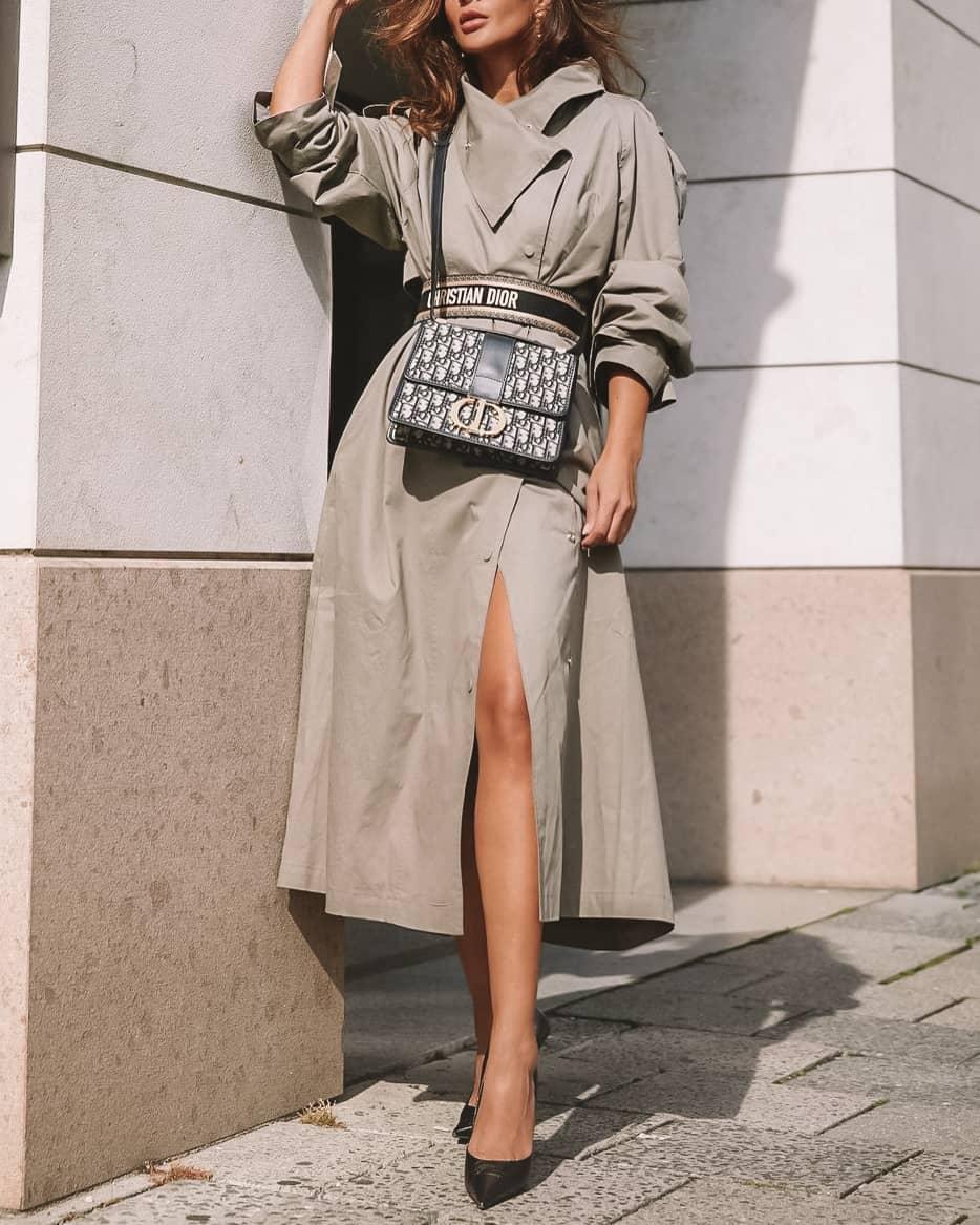 Dior Monogrammed montaigne bag handbag styled_