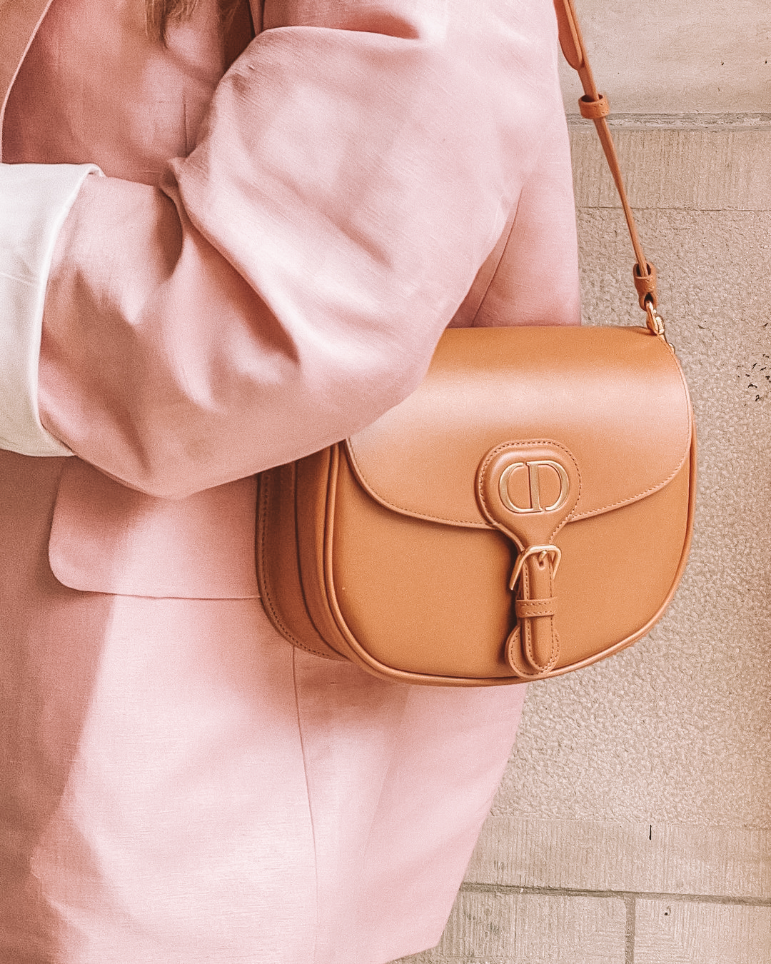 brown Dior Bobby Handbag outfit